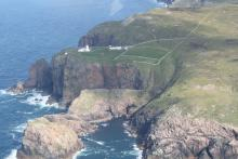 Cape Wrath from the air