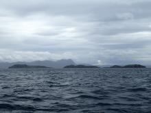 The Summer Isles - looking, at best, autumnal