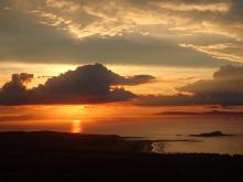 Sunset from North Berwick